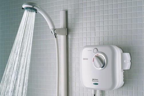 water efficient shower