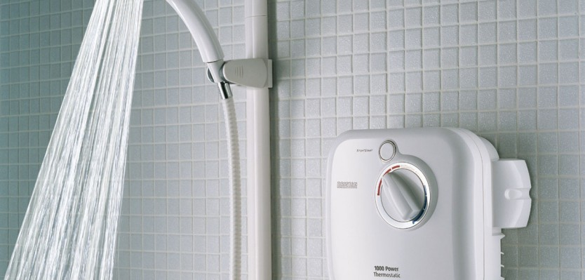 water efficient shower