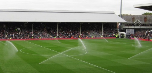 football pitch sprinklers
